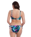 Freya Swim Jungle Flower rio tie side brief black tropical