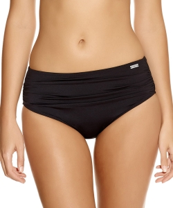 Fantasie Versailles deep gathered control brief czarny
