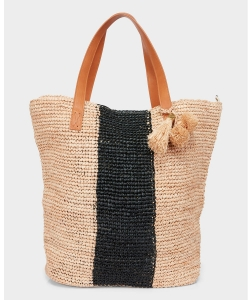 Seafolly Carried Away 71370-BG torba plażowa black/natural
