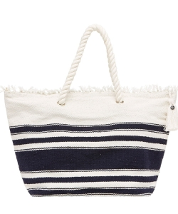Seafolly Carried Away 71074-BG Riviera torba plażowa indigo/white