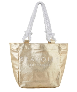 Seafolly Carried Away 71374-BG torba plażowa gold