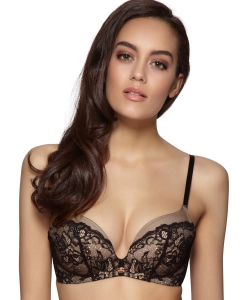 Gossard Glamour Lace non wired black/nude