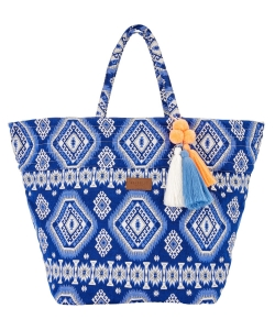 Seafolly Carried Away 71348-BG torba plażowa indygo