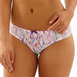 Cleo Kayla brief white multi