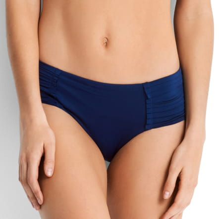 Seafolly 40138-065 pleated retro pant indigo