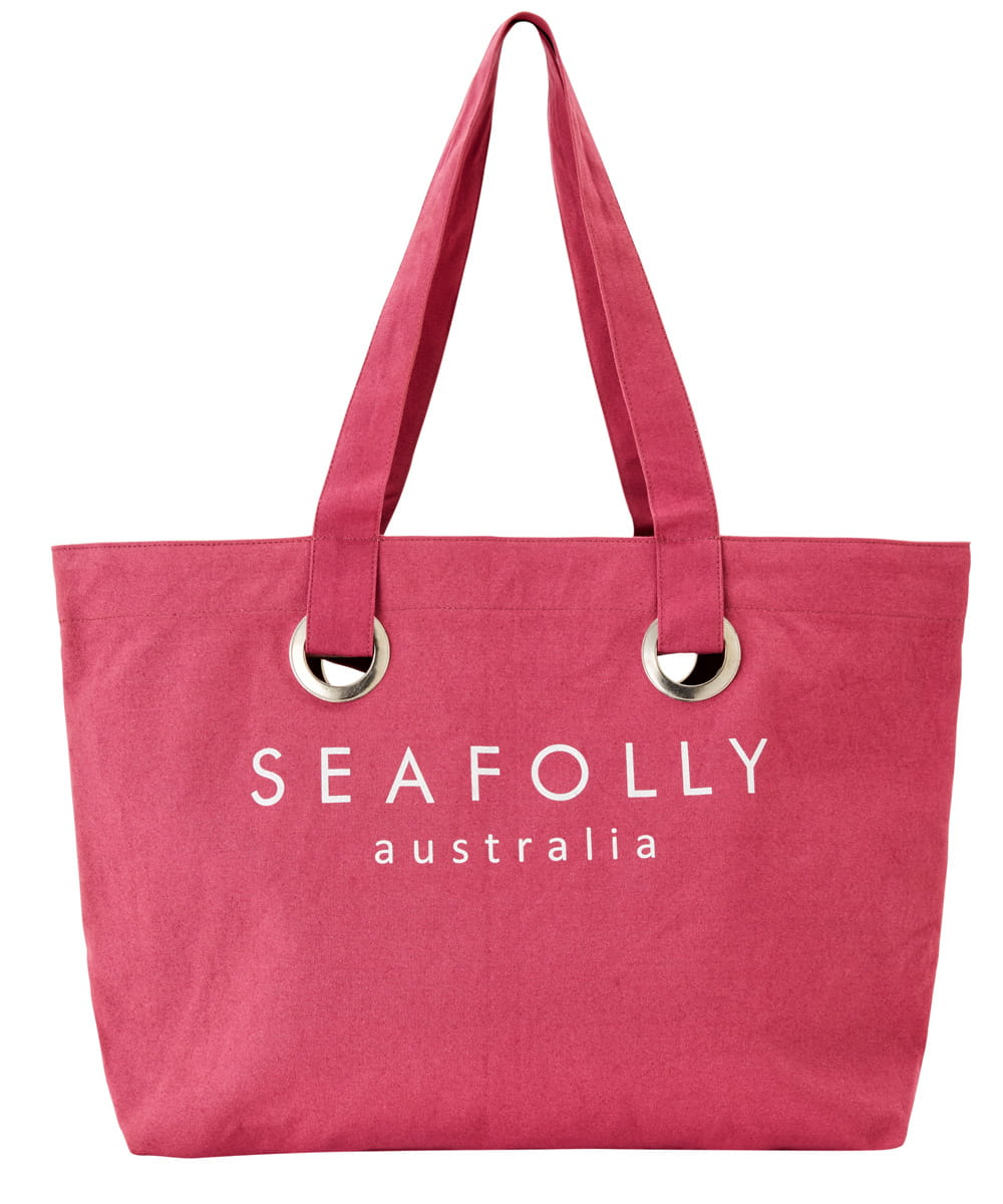 Seafolly Carried Away 71278-BG torba plażowa berry