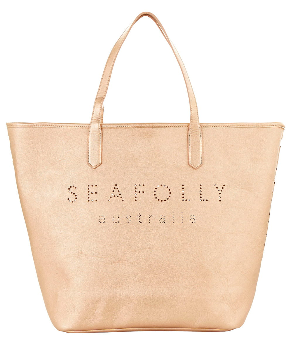 Seafolly Carried Away 71376-BG torba plażowa rose gold