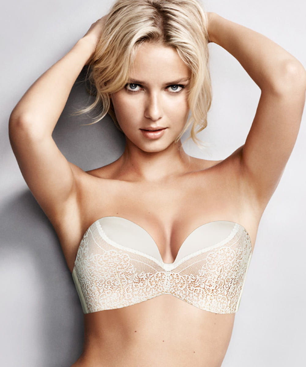 Wonderbra Ultimate Straples Lace WB00016N ivory