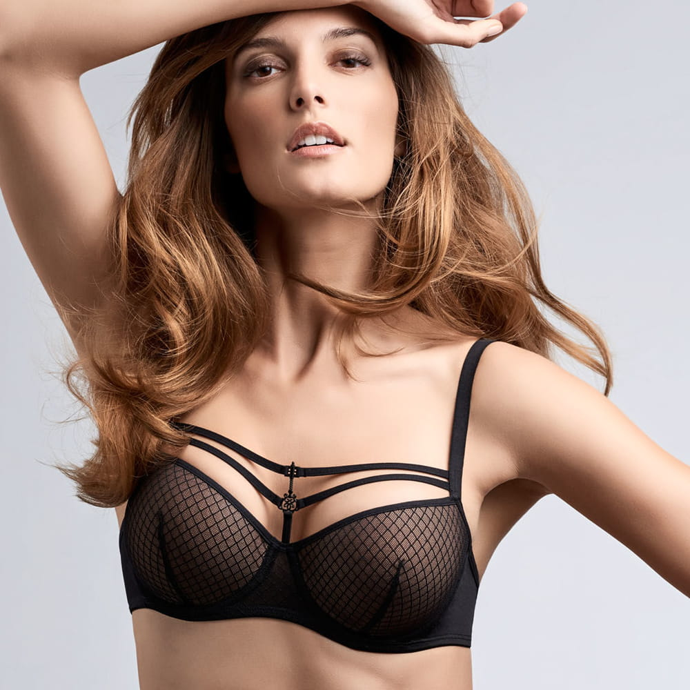 Marlies Dekkers BLACK KEY padded balcony