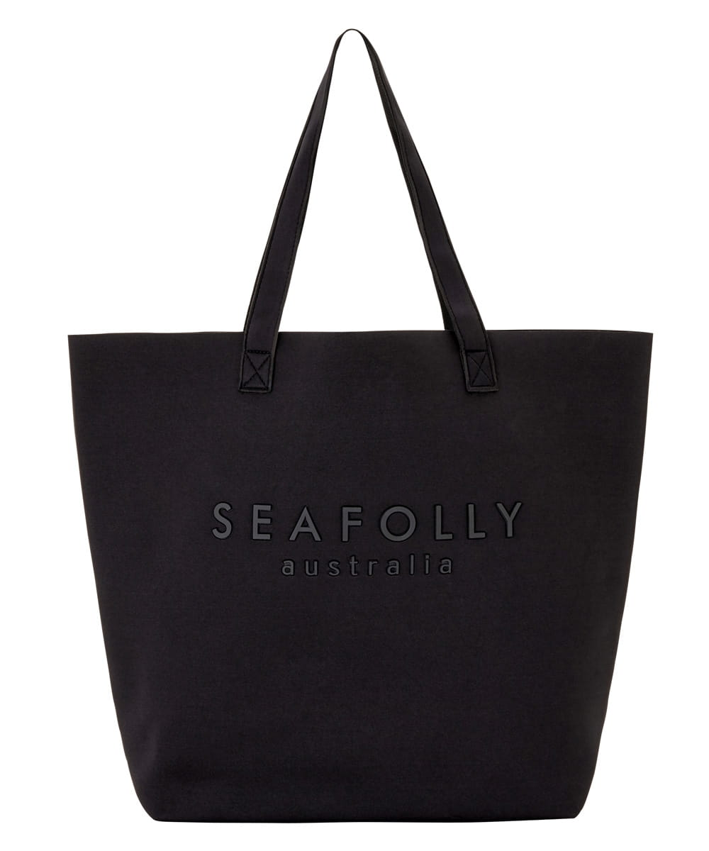 Seafolly Carried Away 71345-BG torba plażowa black