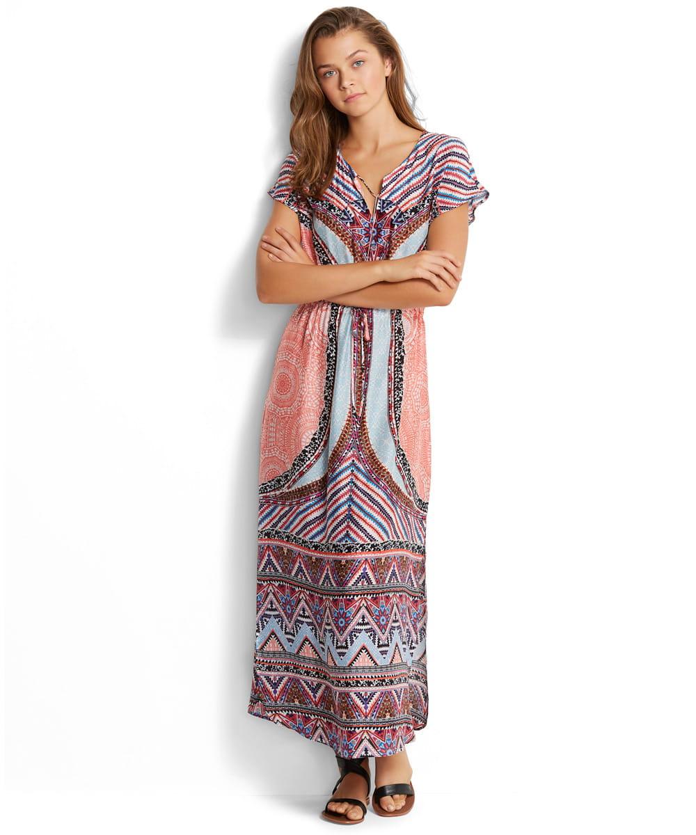 c2d56046bf Seafolly Sahara Nights 53238-KA sukienka plażowa maxi sahara ...