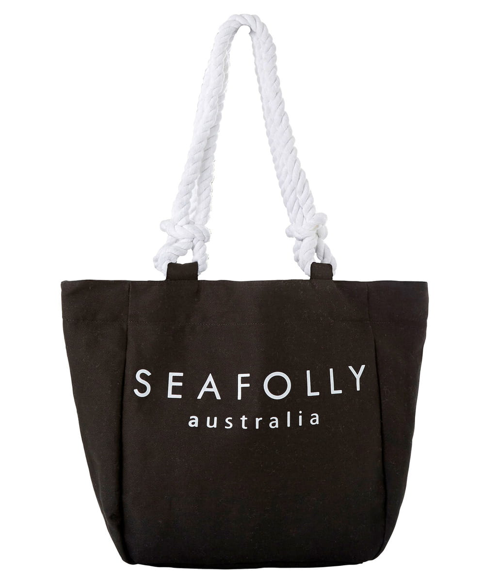 Seafolly Carried Away 71374-BG torba plażowa black