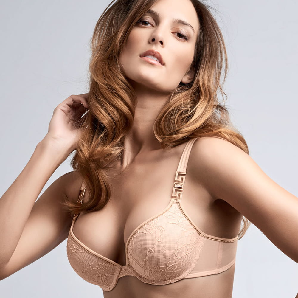 Marlies Dekkers Meander push-up bra bisque