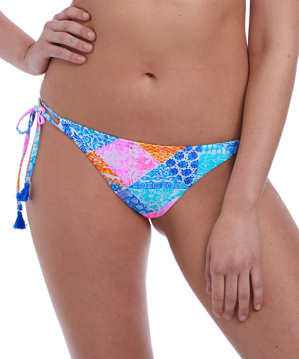 Kostium kąpielowy Freya Festival Girl rio tie side brief multicolor