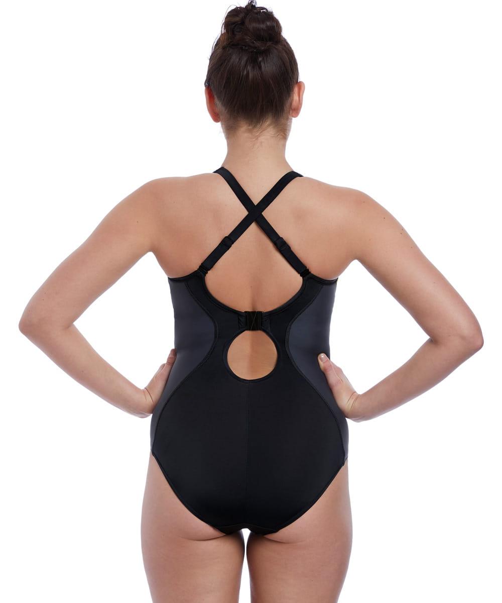Kostium kąpielowy Freya Freestyle jednoczęściowy blackzest