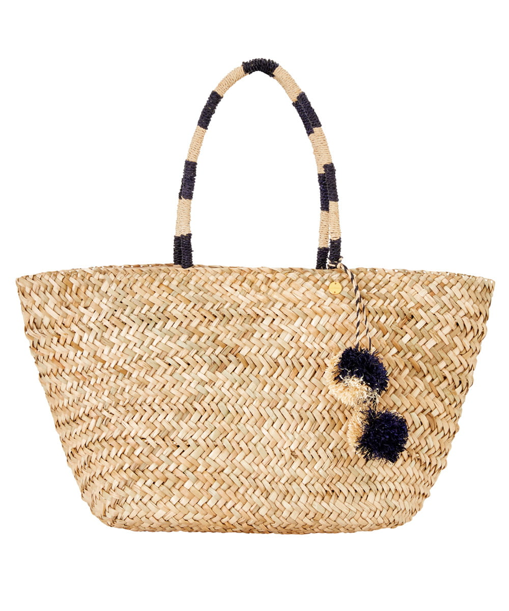 Seafolly Carried Away 71315-BG torba plażowa natural/indigo
