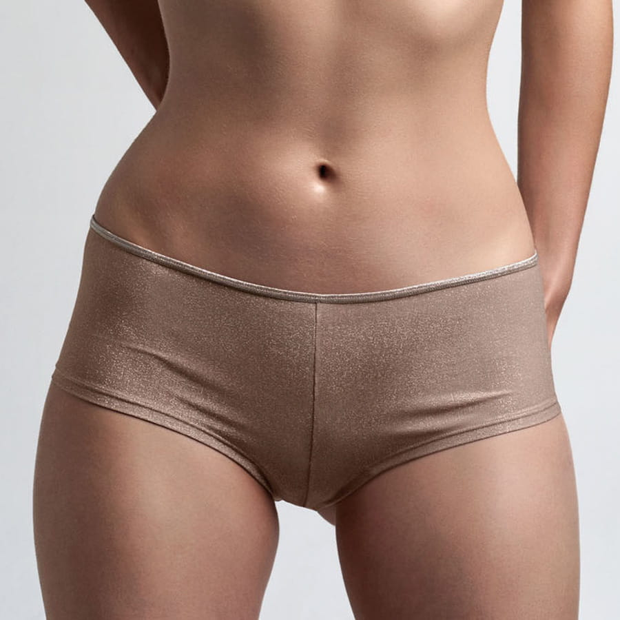 Marlies Dekkers Dame de Paris brazilian shorts maple sugar